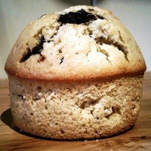facile à cuisiner Muffins au chocolat et à la noix de coco recette végétarienne