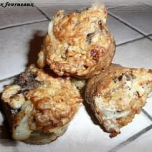 simple à cuisiner Muffins au Gorgonzola, aux poires & aux noix cuisiner la recette