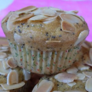 facile Muffins citron amandes (Vegan)  recette végétarienne