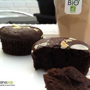 facile Muffins moelleux chocolat-noisettes sans gluten et sans... cuisiner la recette