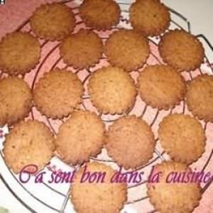 rapide à cuisiner Nougatplâtzchen biscuits de Noël allemagne préparation