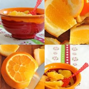 simple à préparer Oranges et dattes pour un dessert vitaminé cuisine végétarienne