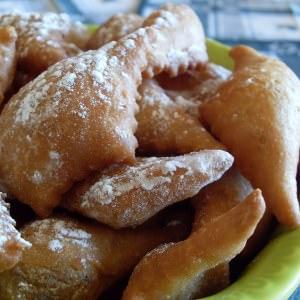 facile à cuisiner Oreillettes de Provence (Vegan) préparation