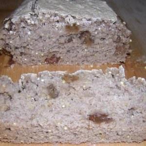 simple à cuisiner Pain quinoa raisin préparation