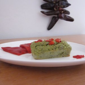 simple à cuisiner Petit far de brocoli au piment d'espelette préparation