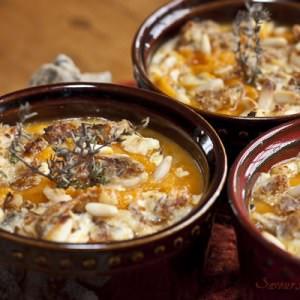 facile à cuisiner Petits gratins de courge à la provençale recette de