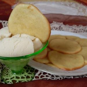 facile à cuisiner Palets vanillés préparation