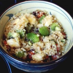 facile à cuisiner Porridge de Quinoa préparation