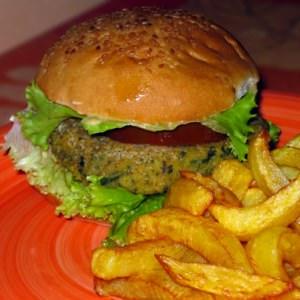 rapide Vegan Burger- Galettes lentilles corail cuisine végétarienne