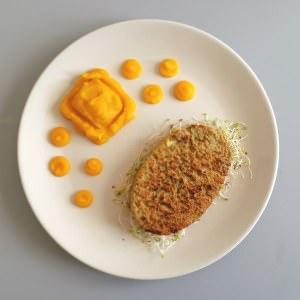 facile Purée de courge butternut recette de