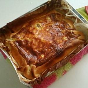 simple à préparer Quiche aux tomates cerises et aux trois fromages préparation
