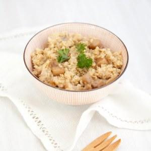 facile à cuisiner Quinoa façon risotto aux topinambours préparer la recette