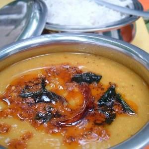 rapide à cuisiner Le Daal - lentilles indiennes préparation