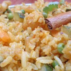 facile à cuisiner Recette indienne Pulao riz aux légumes préparation