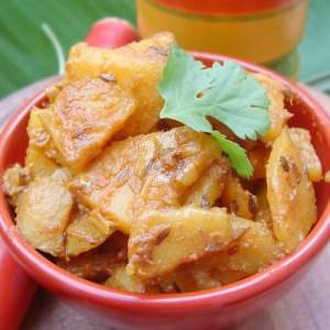 facile à cuisiner Jeera Aloo recette de