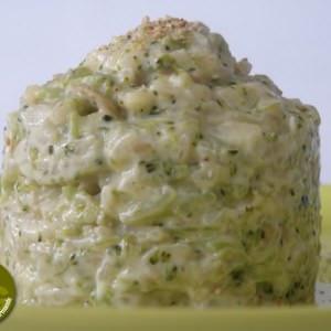 rapide à cuisiner Risotto au brocoli et à la crème de sésame préparation