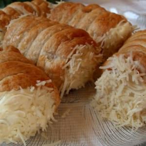 facile à cuisiner Roulés au fromage  préparation