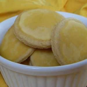 facile Sablés au citron  préparation