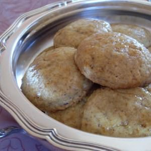 simple à préparer Sablés fourrés au citron confit (Vegan) recette végétarienne