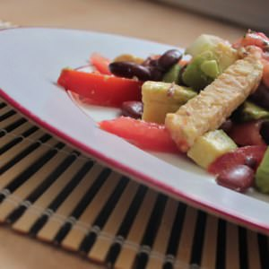 rapide Salade mexicaine au tempeh cuisine végétarienne