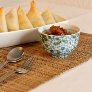 rapide à cuisiner Samosas de noël cuisine végétarienne