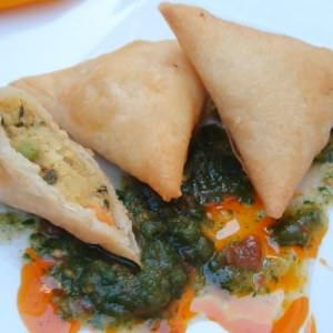 simple à cuisiner Samossas aux légumes recette