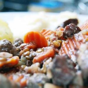 simple à préparer Seitan Bourguignon cuisiner la recette