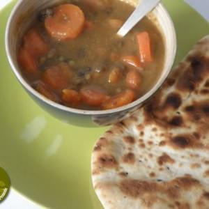 simple à cuisiner Soupe aux lentilles et aux carottes préparer la recette