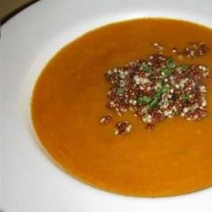 facile à cuisiner Soupe de légumes et quinoa recette de