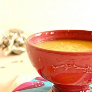 rapide à cuisiner Soupe de panais aux saveurs d'été cuisine végétarienne