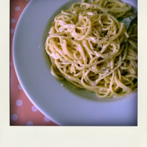 simple à cuisiner Spaghettis cacio e pepe cuisine végétarienne