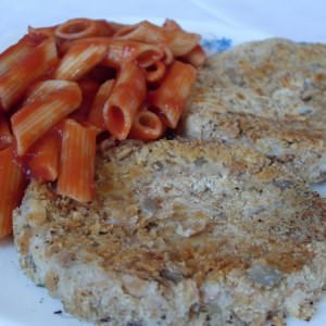 facile Steaks d'haricots blancs et flocons d'épeautre (Vegan)  recette