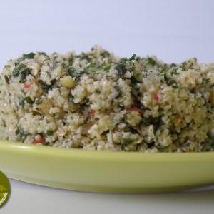 rapide à cuisiner Taboulé libanais préparation