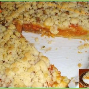 rapide Tarte crumble aux abricots cuisine végétarienne