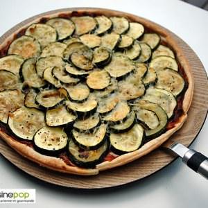 simple à cuisiner Tarte courgettes et mâche recette de
