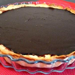 simple à cuisiner Tarte au chocolat noir cuisiner la recette