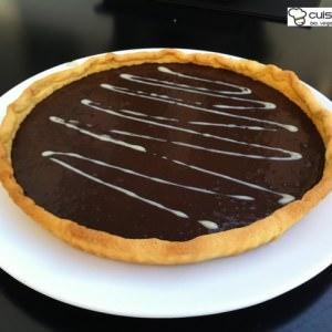 facile Tarte au chocolat noir sans gluten recette