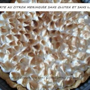 simple à préparer Tarte au citron meringuée sans gluten et sans lait préparer la recette