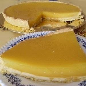 simple à cuisiner Tarte au citron (Vegan) préparation