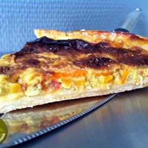 simple à préparer Tarte au pécorino et graines de courge cuisiner la recette