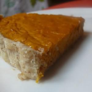rapide Tarte au potimarron et aux noix recette végétarienne