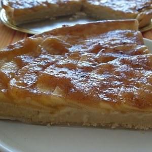 simple à cuisiner Tarte aux pommes (Vegan) cuisiner la recette