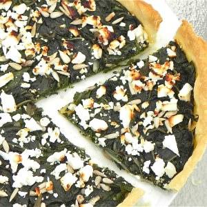 facile à cuisiner Tarte blette feta aneth  cuisine végétarienne