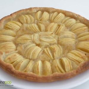 facile à cuisiner Tarte gourmande aux pommes  recette