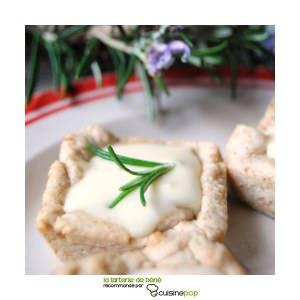 facile à cuisiner Tartelettes au chèvre et sirop de thym au miel cuisiner la recette
