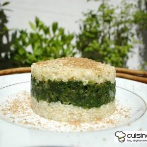 facile à cuisiner Timbale bianco-verde cuisine végétarienne