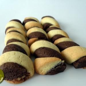 facile à cuisiner Torsades vanille-moka recette