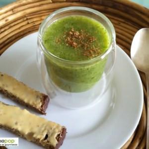 facile à cuisiner Velouté de courgettes au quinoa et au basilic cuisine végétarienne
