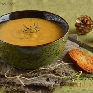 rapide à cuisiner Velouté aux carottes & lentilles corail préparer la recette