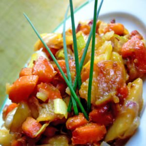 facile Wok de légumes préparation